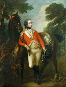 Thomas Gainsborough - Portrait of John Hayes St. Leger