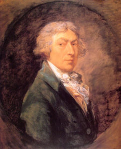 Thomas Gainsborough - Self portrait