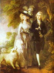 Thomas Gainsborough - William Hallett and His Wife Elizabeth, nee Stephen