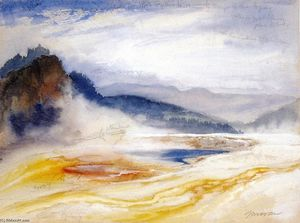 Thomas Moran - Great Springs of the Firehole River