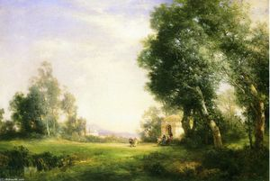 Thomas Moran - Near Tula