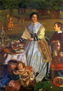William Holman Hunt - The Children's Holiday