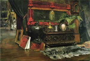 William Merritt Chase - A Corner of My Studio