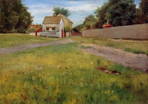 William Merritt Chase - Brooklyn Landscape