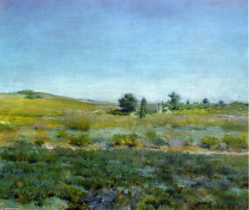 Order Paintings Reproductions | Gray Day in Spring (aka Summer) by William Merritt Chase (1849-1916, United States) | WahooArt.com