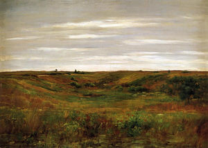 William Merritt Chase - Landscape - A Shinnecock Vale