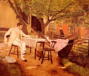 William Merritt Chase - Sunlight and Shadow