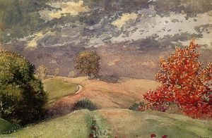 Winslow Homer - Autumn, Mountainville, New York