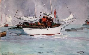 Winslow Homer - Sponge Boats, Key West