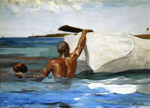 Winslow Homer - The Spong Diver