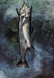 Winslow Homer - Two Trout