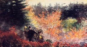 Winslow Homer - Woods at Prout's Neck