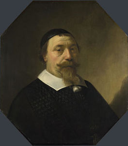 Order Reproductions | Portrait-of-a-Bearded-Man by Aelbert Jacobsz Cuyp (1620-1695, Netherlands) | WahooArt.com