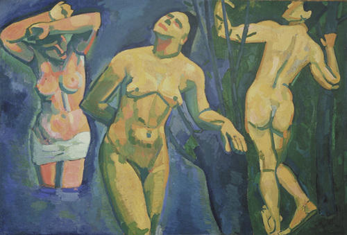 Bathers by André Derain (1880-1954, France) | WahooArt.com