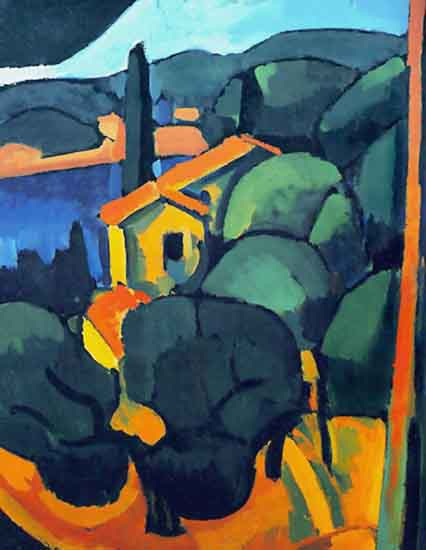 Cassis by André Derain (1880-1954, France) | Museum Quality Reproductions | WahooArt.com