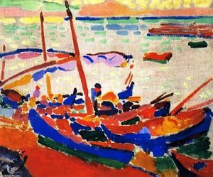 André Derain - Fishing Boats, Collioure