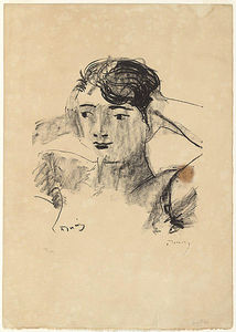 André Derain - Head of a Woman 4
