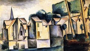André Derain - Houses on the Waterfront