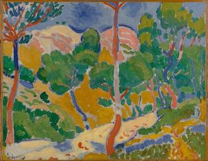 André Derain - Landscape of the Midi