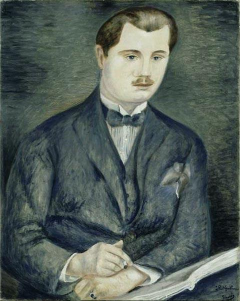Portrait of Paul Guillaume by André Derain (1880-1954, France) | WahooArt.com