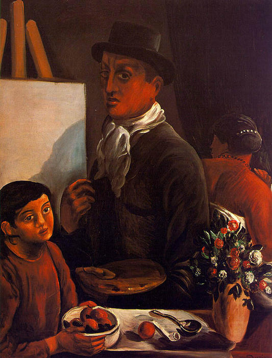 The Artist in his Studio, 1920 by André Derain (1880-1954, France)