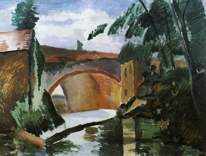 The River, Oil On Canvas by André Derain (1880-1954, France)