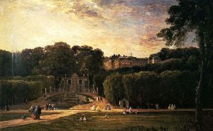 Charles François Daubigny - The Park At St. Cloud