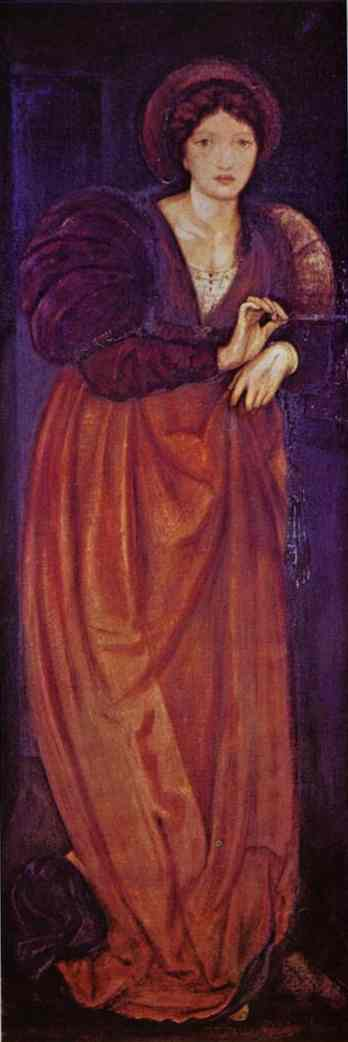 Fatima by Edward Coley Burne-Jones (1833-1898, United Kingdom) | Museum Art Reproductions Edward Coley Burne-Jones | WahooArt.com