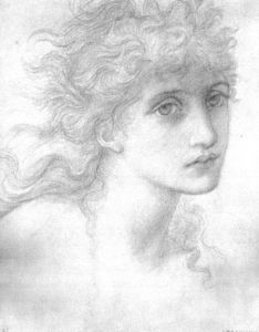 Edward Coley Burne-Jones - Portrait of Maria Zambaco 1