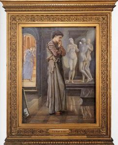 Edward Coley Burne-Jones - Pygmalion and the Image I - The Heart Desires