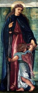 Edward Coley Burne-Jones - Saint Dorothy