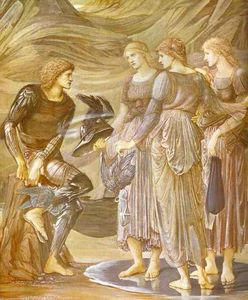 Edward Coley Burne-Jones - The Arming of Perseus 1