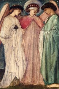 Edward Coley Burne-Jones - The First Marriage