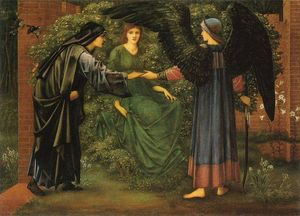 Edward Coley Burne-Jones - The Heart of the Rose