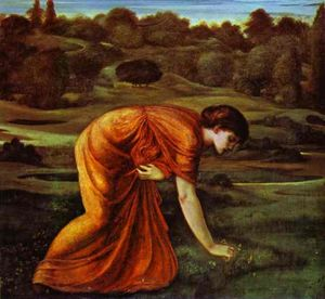 Edward Coley Burne-Jones - The March Marigold