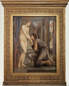 Edward Coley Burne-Jones - The Soul Attains