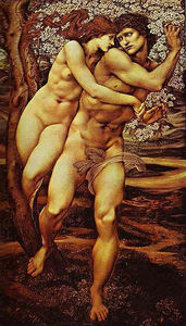 Edward Coley Burne-Jones - Tree of forgiveness