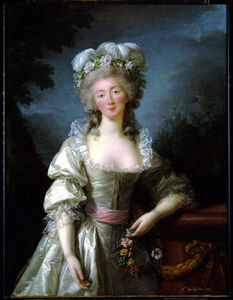 Elisabeth-Louise Vigée-Lebrun - Portrait of Madame du Barry