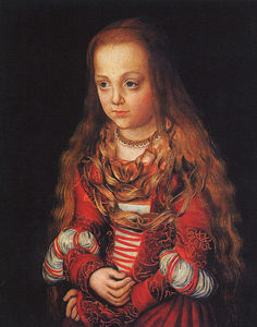 Lucas Cranach The Elder - A Princess of Saxony