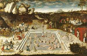 Lucas Cranach The Elder - The Fountain of Youth
