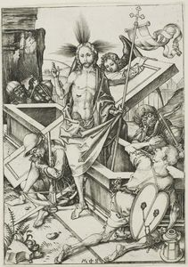 Martin Schongauer - The Resurrection