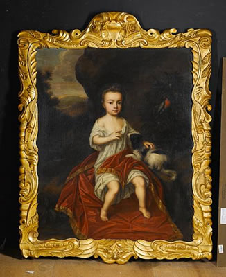 Portrait of a young boy by Mary Beale (1633-1699, United Kingdom) | Reproductions Mary Beale | WahooArt.com