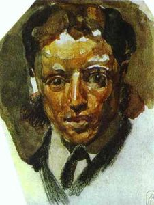 Mikhail Vrubel - Self-Portrait 1