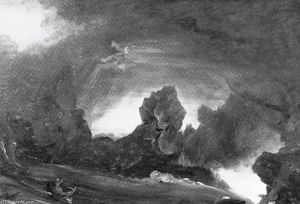 Thomas Cole - Compositional Sketch