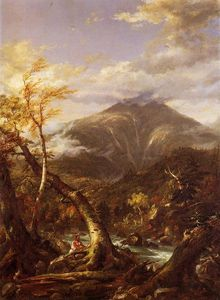 Thomas Cole - Indian Pass Tahawus