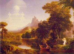 Thomas Cole - The Voyage of Life, Youth