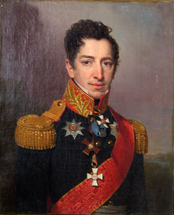 Kikin, Pyotr Andreyevich by Vladimir Lukich Borovikovsky (1757-1825) | Museum Quality Reproductions | WahooArt.com