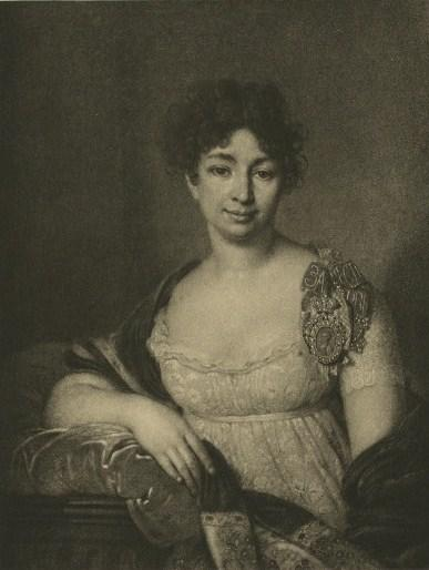 Lopukhin Ekaterina (Light Princess), Oil by Vladimir Lukich Borovikovsky (1757-1825)