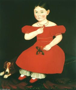 Ammi Phillips - Girl in a Red Dress