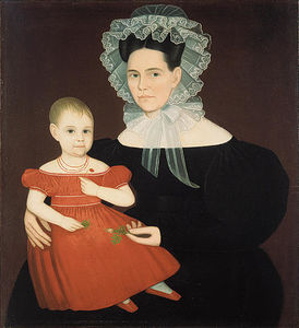 Ammi Phillips - Mrs. Mayer and Daughter